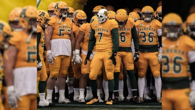 Photo of Photostory: Golden Bears Football vs Manitoba Bison September 21, 2018