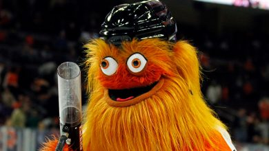 Photo of Gritty is the quintessential meme mascot