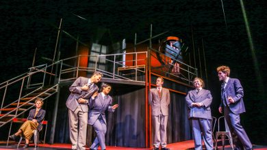 "Photo of U of A Studio Theatre's ""Lenin's Embalmers"" tells jokes in tearful times"