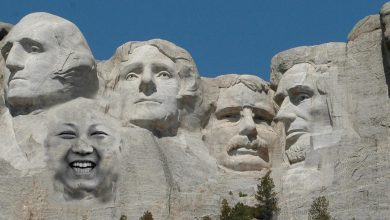 Photo of The Degenerate's Corner: Kim Jong Un demanding to be added to Mount Rushmore