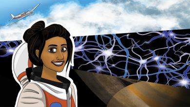 Photo of How to be a superhero: A Q&A with physician and citizen-scientist astronaut Shawna Pandya