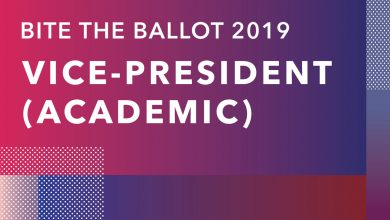 Photo of Bite the Ballot: Vice-President (Academic)