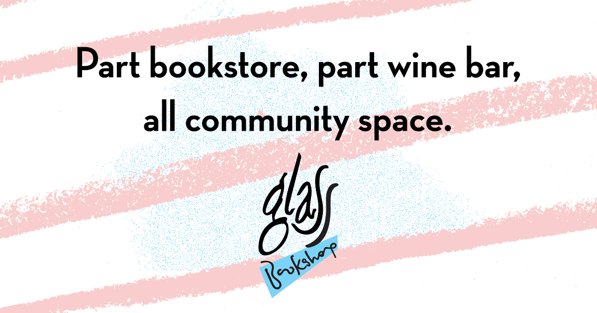 "A space for all: Matthew Stepanic and Jason Purcell's ""not a bookshop""  Glass Bookshop - The Gateway"