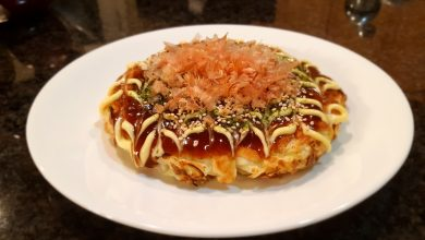 Photo of Lunch Break: Okonomiyaki