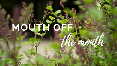 Photo of Mouth off the Month: May