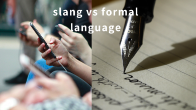 Photo of Point/Counterpoint: Slang versus formal language