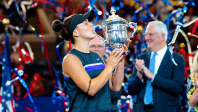 Photo of U of A tennis coach praises Bianca Andreescu as a role model