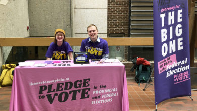 Photo of Students' Union launches Get Out the Vote campaign for 2019 federal election