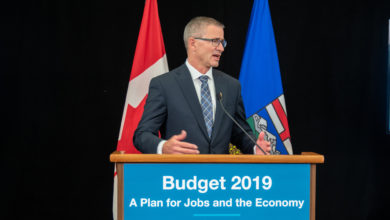 Photo of Burlap Sack: UCP budget changes to AISH
