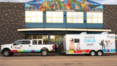 Photo of Marble Pedestal: Edmonton Humane Society announces mobile spay and neuter service