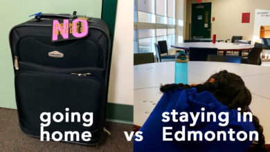 Photo of Point/Counterpoint: Going home versus staying in Edmonton for Thanksgiving