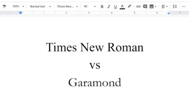 Photo of Point/Counterpoint: Times New Roman or Garamond?