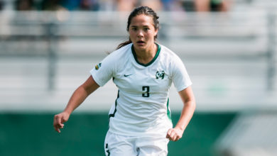 Photo of Q&A: Pandas Soccer player Kiera Fujimoto
