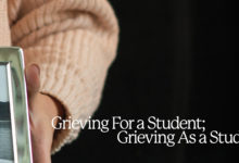 Photo of Grieving for a Student; Grieving as a Student