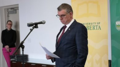 "Photo of ""Tragic day"" at the U of A, says President David Turpin, after flight PS 752 accident"