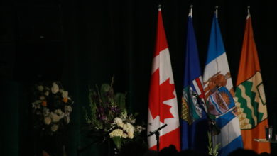 """Photo of """"Darkest day"""" for U of A honoured through memorial service, commemorating those lost on flight PS 752"""