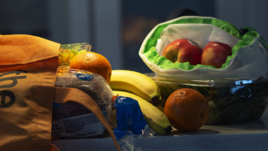 Photo of Fresh Routes, a not-for-profit mobile grocery store, goes to U of A and local communities