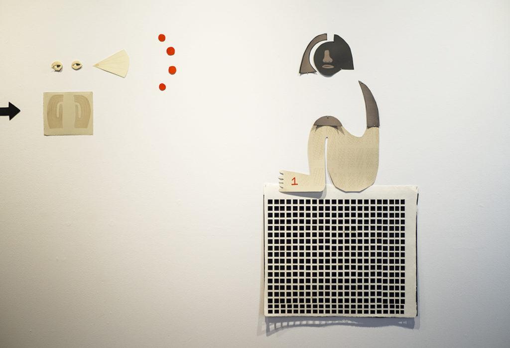 Kim McCollum artwork in gallery