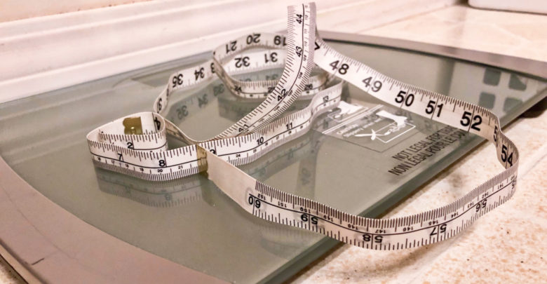 measuring tape weight bias scale