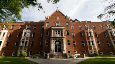 Photo of COVID-19 outbreak in St. Joseph's Men's U of A Residence