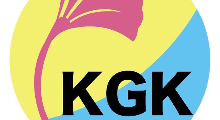The symbol of the U of A's East Asia Studies Undergraduate Students' Association Kanpai Geonbae Konbae (KGK)