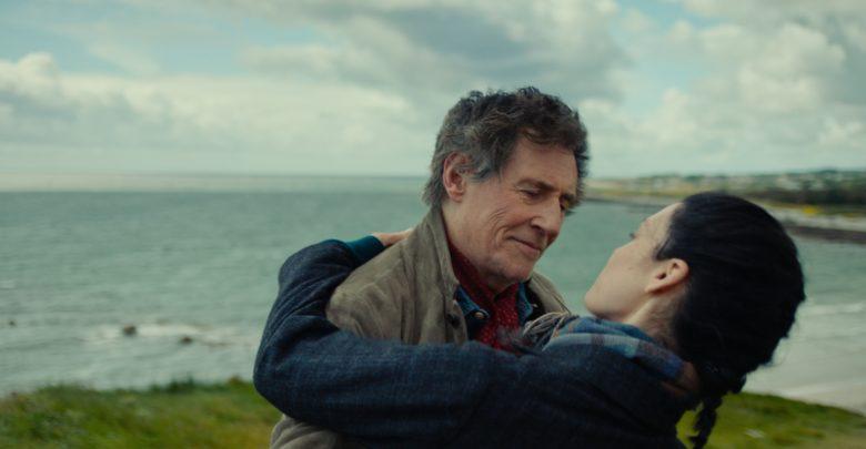 Gabriel Byrne (Samuel) and Jessica Paré (Charlotte) in Death of a Ladies' Man