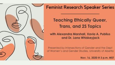 Photo of U of A's Intersections of Gender to host webinar on teaching 2SLGBTQ+ content