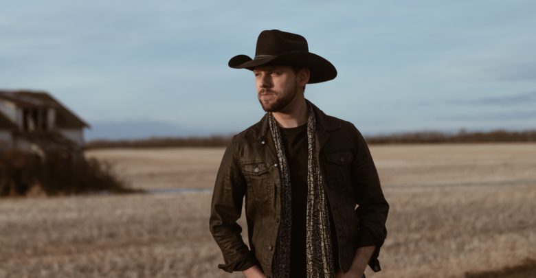 brett kissel standing on country road